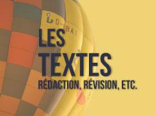 Blocs-textes
