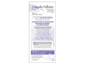 MagaliePelletierFlyer